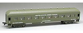 Model-Power 67 US AF Troop Carrier HO Scale Model Train Passenger Car #99895
