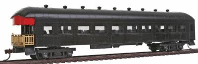 67 39 harriman observation car w interior undecorated ho scale by model power 99900. Black Bedroom Furniture Sets. Home Design Ideas