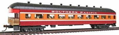 67 39 harriman observation car w interior southern pacific red orange ho scale by model power. Black Bedroom Furniture Sets. Home Design Ideas