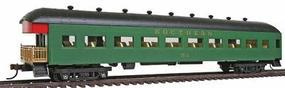 Model-Power 67 Harriman Observation Car w/Interior - Southern HO Scale Model Train Passenger Car #99912