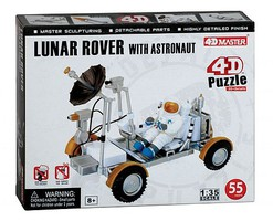 Model-Power Lunar Rover w/astro 4D Puz (55)