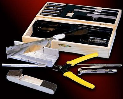Model Expo Tools Dlx HOBBY TOOL SET