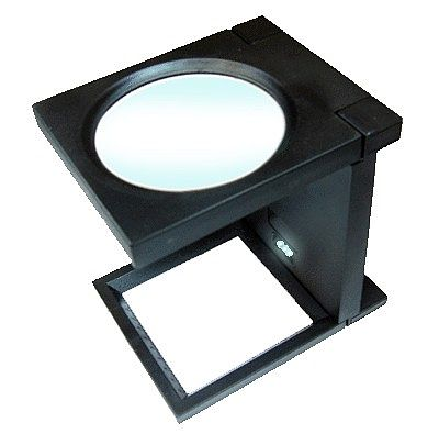 Magnifiers 4.5'' Lighted Folding Magnifier 2x Power
