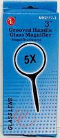 Magnifiers 3 Round Glass Magnifier 5x Power