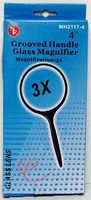 Magnifiers 4'' Round Glass Magnifier 3x Power