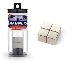 Magcraft 1/2'' Rare Earth Cube Magnets (4)