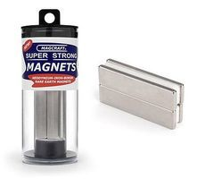 Magcraft 2x1/2x1/8 Rare Earth Block Magnets (4)