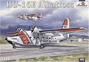 A-Model-From-Russia HU16E Albatros US Coast Guard Amphibian Aircraft Plastic Model Airplane Kit 1/144 #1415