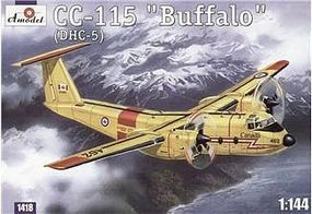 A-Model-From-Russia CC115 Buffalo (DHC5) Canadian Transport Aircraft Plastic Model Airplane Kit 1/144 #1418