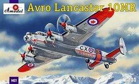 A-Model-From-Russia Avro Lancaster 10MR Rescue Aircraft Plastic Model Airplane Kit 1/144 Scale #1427