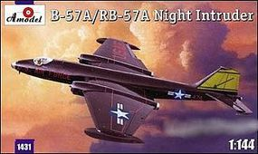 A-Model-From-Russia B57A/RB57A Night Intruder Aircraft Plastic Model Airplane Kit 1/144 Scale #1431