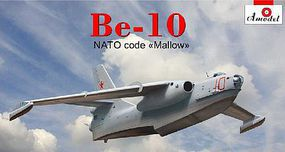 A-Model-From-Russia Beriev Be10 NATO Code Mallow Amphibious Bomber Plastic Model Airplane Kit 1/144 #1452