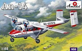 A-Model-From-Russia Antonov An14 Aircraft Plastic Model Airplane Kit 1/144 Scale #1456