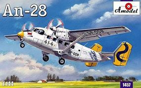A-Model-From-Russia Antonov An28 Aircraft Plastic Model Airplane Kit 1/144 Scale #1457