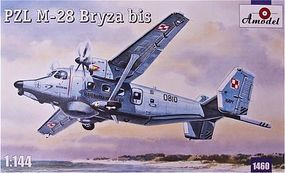 A-Model-From-Russia PZL M28 Bryza Bis Polish Navy Anti-Submarine Plastic Model Airplane Kit 1/144 Scale #1460