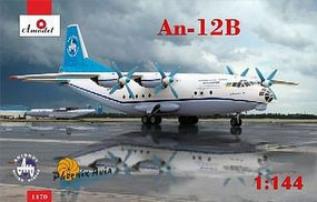 A-Model-From-Russia Antonov An12B Cargo Aircraft Plastic Model Airplane Kit 1/144 Scale #1470