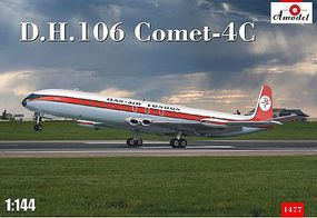 A-Model-From-Russia DH106 Comet 4C Passenger Airliner Plastic Model Airplane Kit 1/144 Scale #1477