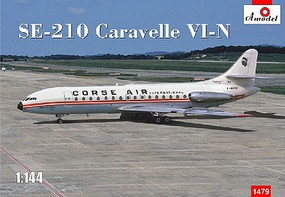 A-Model-From-Russia 1/144 SE210 Caravelle VI-N Corse Air International Commercial Airliner