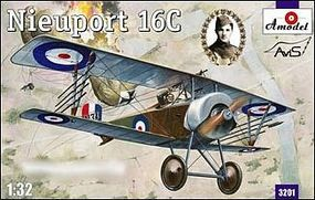 A-Model-From-Russia Nieuport 16C (A134) WWII BiPlane Fighter Plastic Model Airplane Kit 1/32 Scale #3201