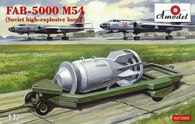 A-Model-From-Russia 1/72 FAB5000 M54 Soviet High-Explosive Bomb