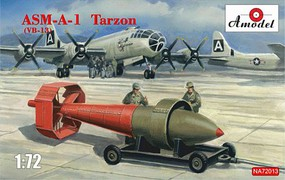 A-Model-From-Russia 1/72 ASM A1 Tarzon (VB13) Guided Bomb w/Trailer