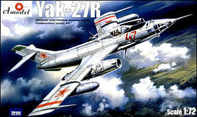 A-Model-From-Russia Yak27R Soviet Reconnaissance Plane Plastic Model Airplane Kit 1/72 Scale #72111