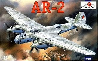A-Model-From-Russia AR2 Soviet Dive Bomber Plastic Model Airplane Kit 1/72 Scale #72120
