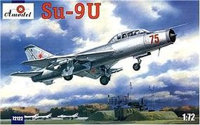 A-Model-From-Russia SU9U Soviet Fighter/Interceptor Plastic Model Airplane Kit 1/72 Scale #72122
