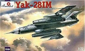 A-Model-From-Russia Yak28IM Soviet Fighter Bomber Plastic Model Airplane Kit 1/72 Scale #72126