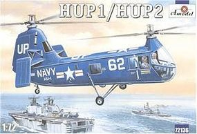 A-Model-From-Russia HUP1/HUP2 US Navy Helicopter Plastic Model Helicopter Kit 1/72 Scale #72136