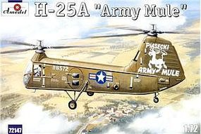 A-Model-From-Russia H25A Army Mule USAAF Helicopter Plastic Model Helicopter Kit 1/72 Scale #72147