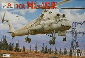 A-Model-From-Russia Mil Mi10K Soviet Flying Crane Helicopter Plastic Model Helicopter Kit 1/72 Scale #72163