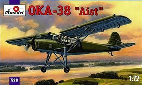 A-Model-From-Russia Antonov OKA38 Aist Soviet Aircraft Plastic Model Airplane Kit 1/72 Scale #72211