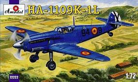 A-Model-From-Russia HA1109 K1L Spanish Fighter Plastic Model Airplane Kit 1/72 Scale #72222