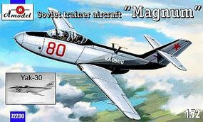 A-Model-From-Russia Yak30 Magnum Soviet Trainer Aircraft Plastic Model Airplane Kit 1/72 Scale #72230