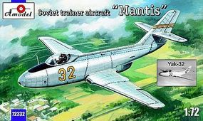 A-Model-From-Russia Yak32 Mantis Soviet Trainer Aircraft Plastic Model Airplane Kit 1/72 Scale #72232