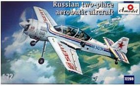 A-Model-From-Russia Sukhoi Su29 Russian 2nd Place Aerobatic Aircraft Plastic Model Airplane Kit 1/72 #72269