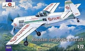 A-Model-From-Russia Su31 Russian Aerobatic Aircraft Plastic Model Airplane Kit 1/72 Scale #72271