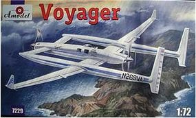 A-Model-From-Russia Dick Rutans Voyager Plastic Model Airplane Kit 1/72 Scale #7229