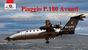 A-Model-From-Russia Piaggio P180 Avanti Bomber (New Tool) Plastic Model Airplane Kit 1/72 Scale #72301