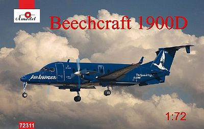 A-Model From Russia Beechcraft 1900D Air Labrador Aircraft -- Plastic Model Airplane Kit -- 1/72 Scale -- #72311