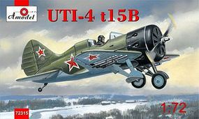 A-Model-From-Russia AIR6 Soviet Floatplane Plastic Model Airplane Kit 1/72 Scale #72315