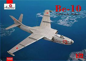 A-Model-From-Russia Beriev Be10 NATO Code Mallow Amphibious Bomber Plastic Model Airplane Kit 1/72 #72329