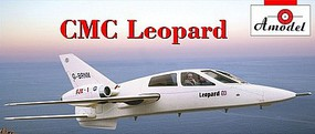 A-Model-From-Russia 1/72 CMC Leopard British Business Jet (New Tool)