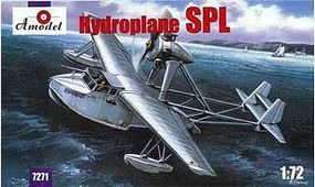 A-Model-From-Russia Hydroplane SPL Plastic Model Airplane Kit 1/72 Scale #7271