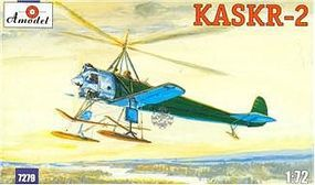 A-Model-From-Russia KASKR2 Soviet Autogyro 1930 Plastic Model Helicopter Kit 1/72 Scale #7279