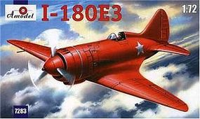 A-Model-From-Russia I180E3 Soviet Fighter Plastic Model Airplane Kit 1/72 Scale #7283