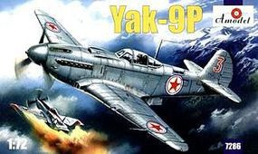 A-Model-From-Russia Yak9P Soviet Fighter Plastic Model Airplane Kit 1/72 Scale #7286