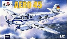 A-Model-From-Russia Aero 45 Multifunctional Aircraft Plastic Model Airplane Kit 1/72 Scale #7295