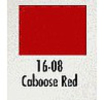 Modelflex (bulk of 3) CABOOSE RED 1oz (3)